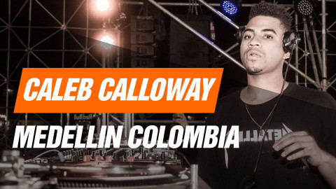 Caleb Calloway LIVE at Medellin Colombia by Tigo Music, Onbeat, Baren