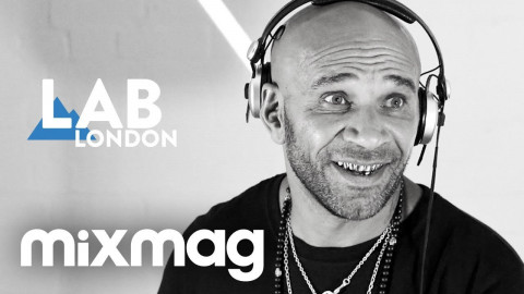 GOLDIE and ULTERIOR MOTIVE in The Lab LDN