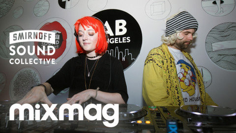 J.PHLIP and DINK! breaks and tech set in The Lab LA