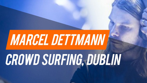 Marcel Dettmann Crowd Surfing in Dublin - 28-08-2015