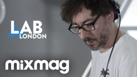 Move D house & disco vinyl set in The Lab LDN