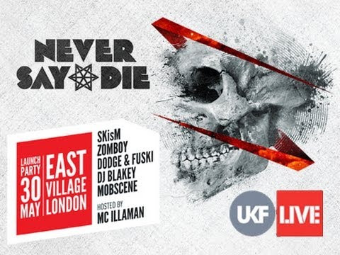 Never Say Die Album Launch - UKFLive Stream