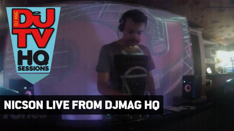 Nicson 60 minute house set from DJ Mag HQ