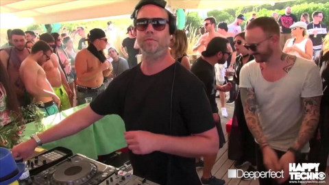 Kaiserdisco @ Happy Techno 12h Festival on the Beach (Barcelona / Spain) - 19.06.16
