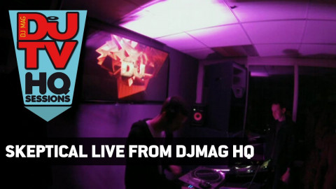 Skeptical's live drum & bass set from DJ Mag HQ
