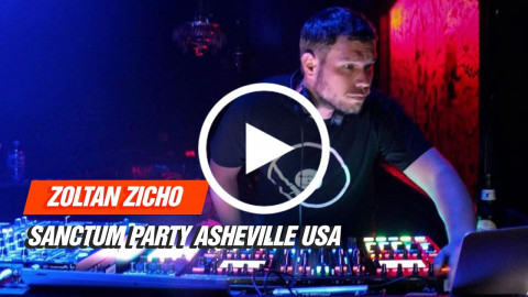 Zoltan Zicho LIVE @ Sanctum Party Asheville USA 29-04-2017