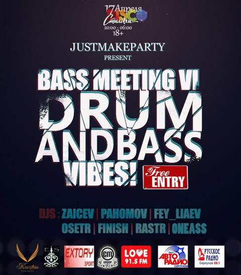 2015-04-04-dj osetr - Studio Bass Meeting by JustMakeParty