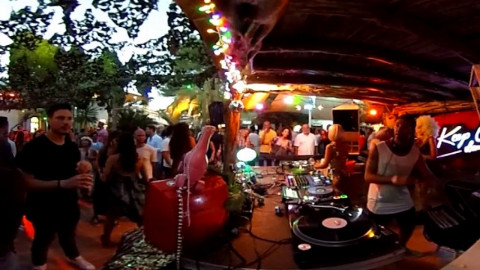 [ 360 degrees ] · REMI VANNETTI · Keep on Dancing at Las Dalias Ibiza © Allaboutibizatv.net
