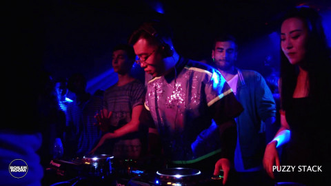 Electronic: Puzzy Stack Boiler Room Beijing Trax Magazine DJ Set
