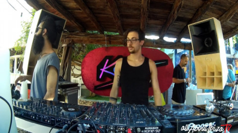 REMI VANNETTI · KEEP ON DANCING at LAS DALIAS IBIZA © AllaboutibizaTV