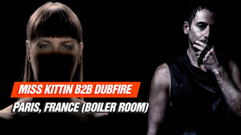 Techno Radio: Miss Kittin b2b Dubfire live at Paris, France (Boiler Room) 30-06-2017