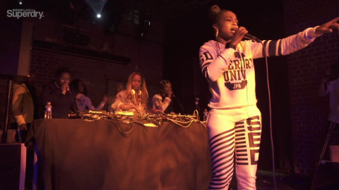 NADIA ROSE live at  Mixmag X  Superdry at fabric
