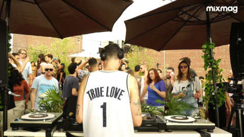CREW LOVE : WOLF+LAMB / SOUL CLAP / THE FITNESS & PONY (Live) Brooklyn Rooftop Jam