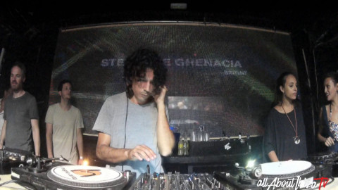 STHEPANE GHENACIA · Bright at @Sankeys Ibiza  © AllaboutibizaTV