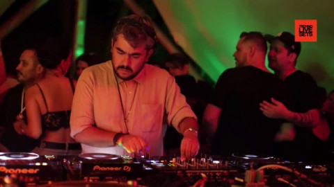 Rebolledo live at Zamna Tulum, Mexico by Project Sound