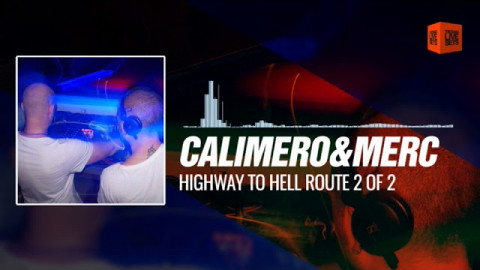 Calimero & MerC - Highway to Hell Route 2 Of 2 Final ShowDown (German Story Techno Set) 07-10-2017