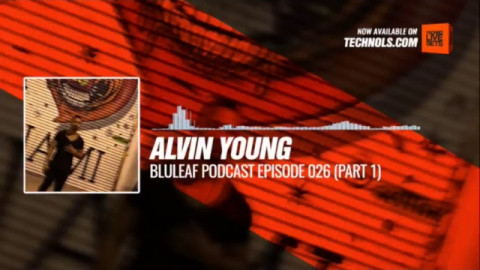 Alvin Young - @bluleafpodcast Episode 026 (Part 1) 20-01-2018 #Music #Periscope #Techno
