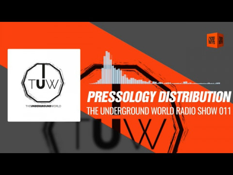 Techno Music  @pressology Distribution - The Underground World Radio Show 011 23-12-2017