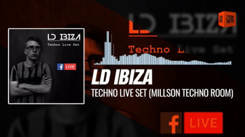 Techno Music LD Ibiza - Techno Live Set (Millson Techno Room) 20-10-2017