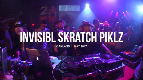Invisibl Scratch Piklz Boiler Room Oakland DJ Set