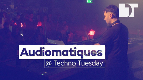 Audiomatiques at Techno Tuesday (Amsterdam)