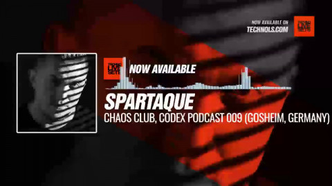 #Techno #music with @spartaque - Chaos Club, Codex Podcast 009 (Gosheim, Germany) #Periscope