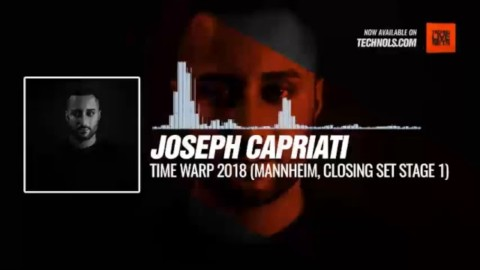 #Techno #music with @josephcapriati - Time Warp 2018 (Mannheim, Closing Set Stage 1) #Periscope