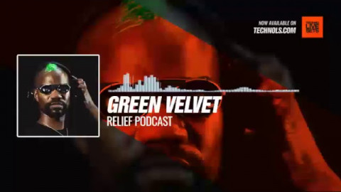#Techno #music with @GreenVelvet_ - Relief Podcast #Periscope