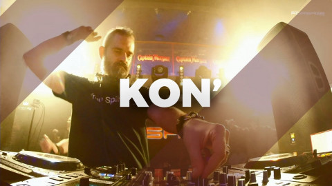Kon' @ Forsage club, Kiev, Ukraine 20.04.2018 // Techno