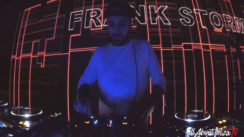 Frank Storm · US Opening Party at Sankeys Ibiza © www.Allaboutibizatv.net