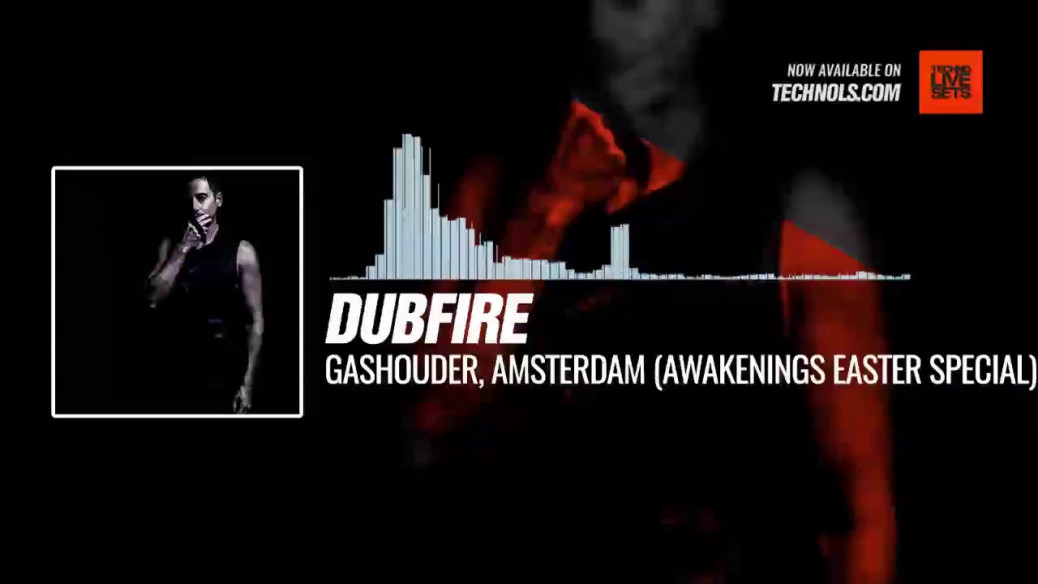 #Techno #music with @dubfire - Gashouder, Amsterdam (Awakenings Easter Special) #Periscope