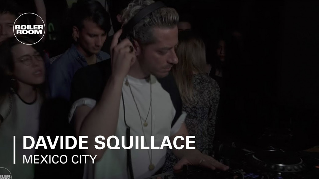 Davide Squillace's driving Techno mix | Boiler Room Mexico City