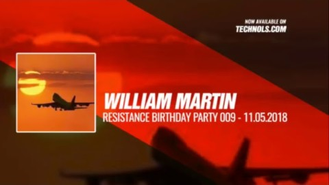 #Techno #music with @williammartindj @ Resistance Birthday Party 009 - #Periscope