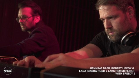 Hennning Baer, Robert Lippok, LADA, with Speedy J | Boiler Room Machines Berlin