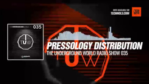 #Techno #music with @Pressology Distribution - The Underground World Radio Show 035 #Periscope