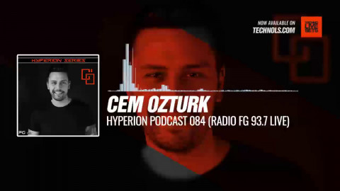 #Techno #music with @IsCemOzturk - HYPERION Podcast 084 (Radio FG 93.7 Live) #Periscope