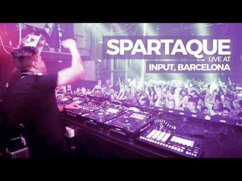Spartaque @ Input, Barcelona for Radio Intense 09.06.2018