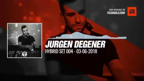 #Techno #music with Jurgen Degener - Hybrid Set 004 #Periscope