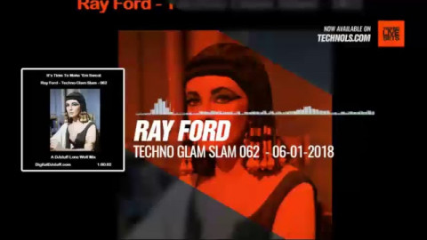 #Techno #music with Ray Ford @DJstuff - Techno Glam Slam 062  #Periscope