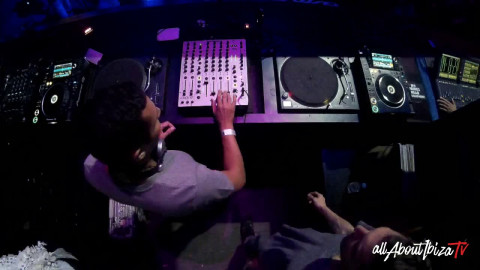 SHAUN REEVES B2B DJEBALI · KEEP ON DANCING OPENING at AMNESIA IBIZA © www.Allaboutibizatv.net