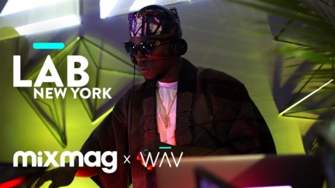 DJ SPINALL afropop set in The Lab NYC