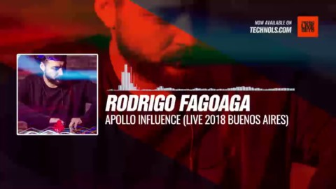 Rodrigo Fagoaga - Apollo Influence (Live 2018 Buenos Aires) #Periscope #Techno #music