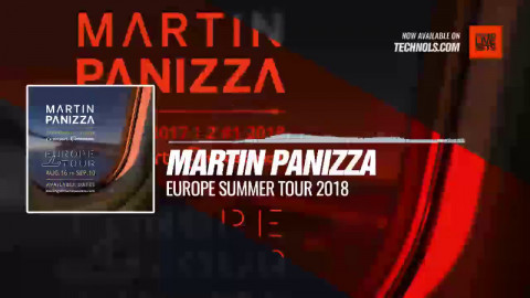 @MartinPanizzaDj - Europe Summer Tour 2018 #Periscope #Techno #music