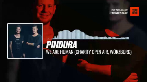 Pindura - We Are Human (Charity Open Air, Würzburg) #Periscope #techno #music