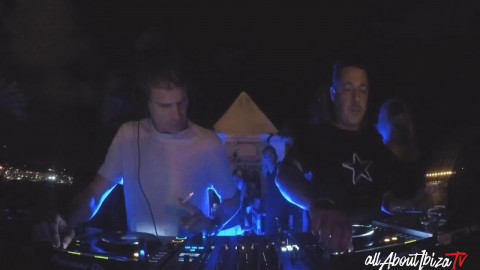 DAN GHENACIA b2b SHONKY · Keep on Dancing at Bloop Festival Ibiza © www.Allaboutibizatv.net