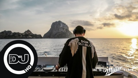 Don Diablo sunset DJ set from an epic Ibiza boat!