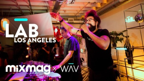 WAJATTA (Reggie Watts & John Tejada) live in The Lab LA
