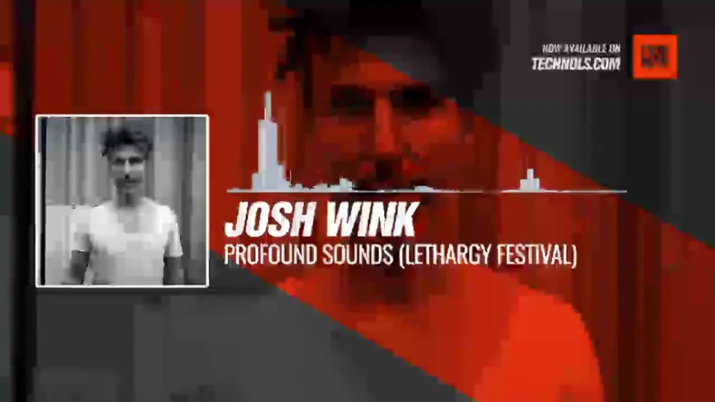 Josh Wink - Profound Sounds (Lethargy Festival at Rote Fabrik Part 2) #Periscope #Techno #music