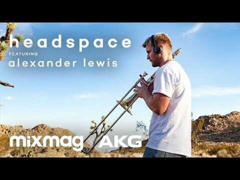 Alexander Lewis found freedom in Electronic music | AKG x Mixmag