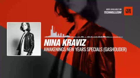 Nina Kraviz - Awakenings New Years Specials (Gashouder, Amsterdam)  #Periscope #Techno #music